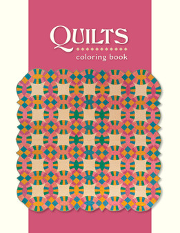 Pomegranate Quilts Coloring Book