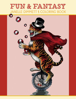 Pomegranate Fun & Fantasy Coloring Book