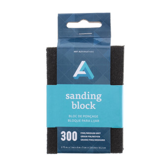 Art Alternatives Sanding Block Fine/Medium 300 Grit