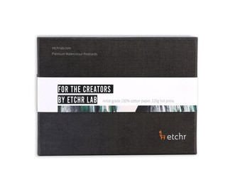 Etchr Watercolour Postcards: Hot Press 100 Pack