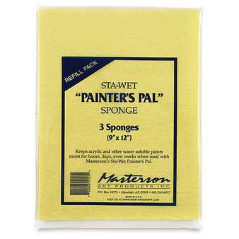 Masterson Sta-Wet Palette Sponge Refill 16x12