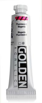 Golden Acrylic Heavy Body 2oz Fluorescent Magenta