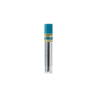 Pentel Super Hi-Polymer Graphite Refill Lead 12 Piece Tube .7mm B