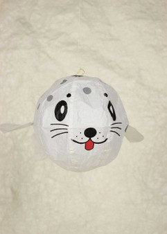 "Japanese Paper Place Paper Balloon 5"" Seal Pup"