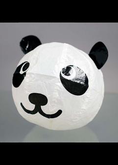"Japanese Paper Place Paper Balloon 6"" Panda"