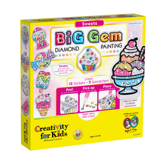 Creativity for Kids Big Gem Diamond Painting – Sweets