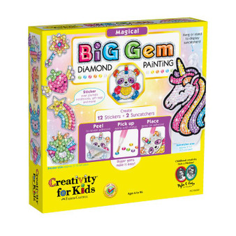 Creativity for Kids Big Gem Diamond Painting – Magical