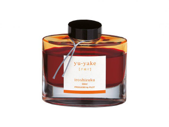 Pilot Iroshizuku Ink 50ml Bottle Yu-Yake Orange