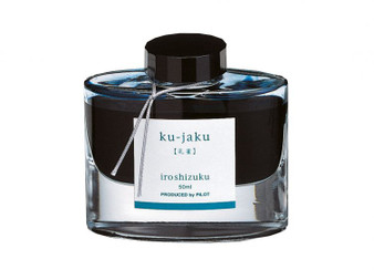 Pilot Iroshizuku Ink 50ml Bottle Ku-Jaku Peacock