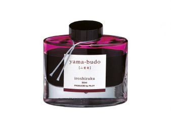 Pilot Iroshizuku Ink 50ml Bottle Yama-Budo Magenta