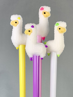 BCMini Toy Gel Pen White Llama