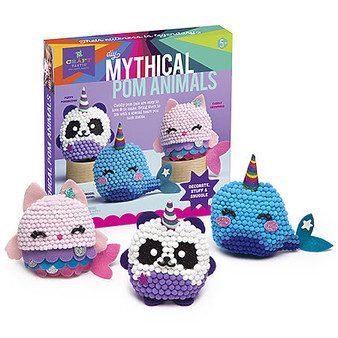 Ann Williams Craft-tastic Mythical Pom Animals Kit