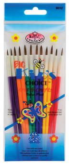 Royal Brush Big Kids Choice Deluxe Brush Set 12