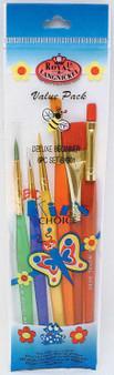 Royal Brush Big Kids Choice Deluxe Brush Set 6 Pieces