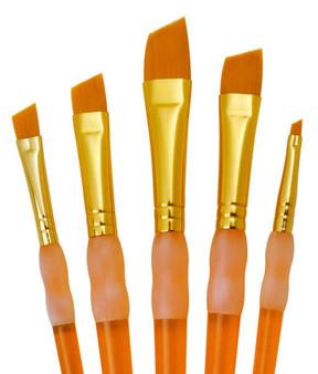 Royal Brush Big Kids Choice Angular Brush Set 5