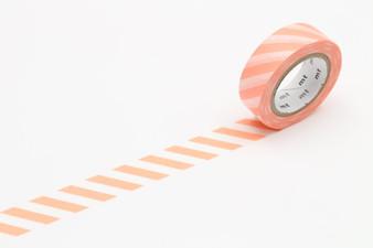 MT Washi Tape Salmon Stripe