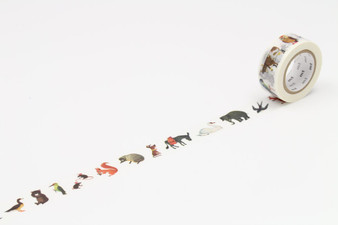 MT Washi Tape Alain Gree Animals