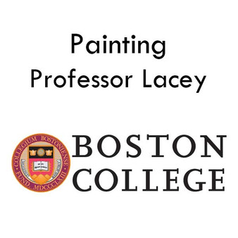 Painting with Professor Lacey