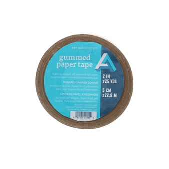 "Art Alternatives Gummed Paper Tape 2""x 75' (25 yds)"