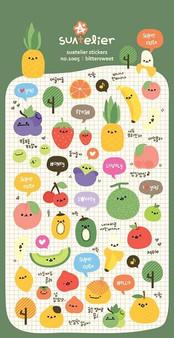 BC Mini Stickers Puffy Bittersweet Fruits