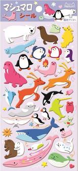 BC Mini Stickers Puffy Arctic Animals