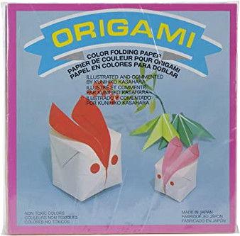 Aitoh Origami Assorted Pack of 300 Sheets 3""