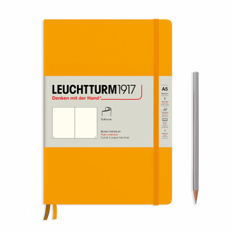 Leuchtturm 1917 Hardcover Medium A5 Blank Rising Color Rising Sun