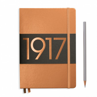 Leuchtturm 1917 Medium A5 Blank Metallic Copper