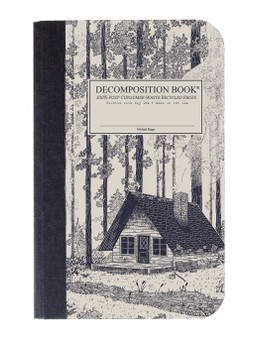 Michael Rogers Press Decomposition Book Pocket Sized Ruled Redwood Creek