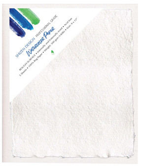 Shizen Design Rough Watercolor 9X12 Sheets Pack of 5