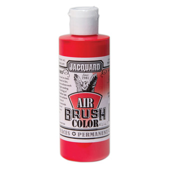 Jacquard Airbrush Color 4oz Transparent Red
