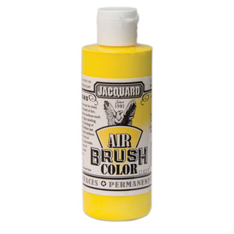 Jacquard Airbrush Color 4oz Opaque Yellow
