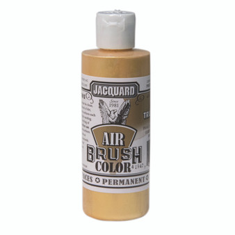 Jacquard Airbrush Color 4oz Metallic True Gold