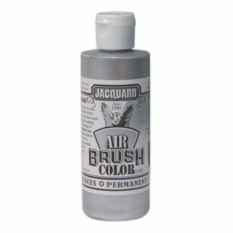 Jacquard Airbrush Color 4oz Metallic Silver