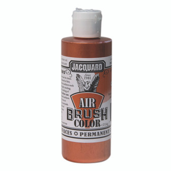 Jacquard Airbrush Color 4oz Metallic Copper