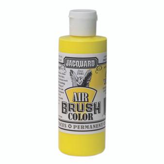 Jacquard Airbrush Color 4oz Fluorescent Yellow