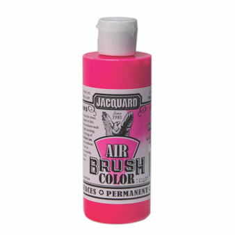 Jacquard Airbrush Color 4oz Fluorescent Hot Pink