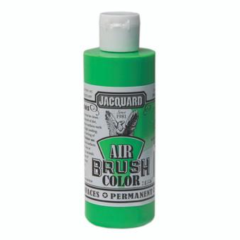 Jacquard Airbrush Color 4oz Fluorescent Green