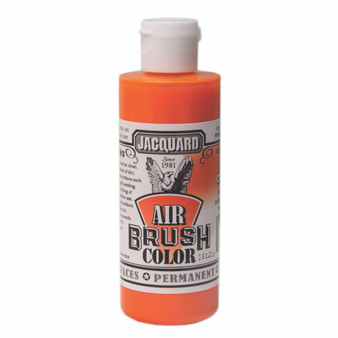 Jacquard Airbrush Color 4oz Bright Orange