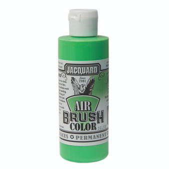 Jacquard Airbrush Color 4oz Iridescent Green
