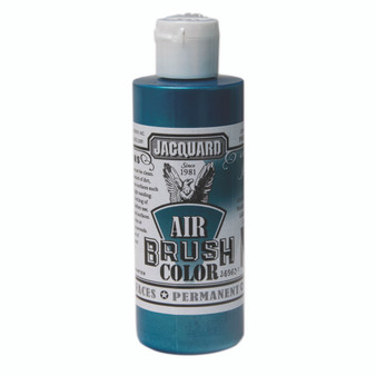 Jacquard Airbrush Color 4oz Iridescent Teal