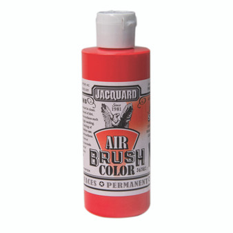 Jacquard Airbrush Color 4oz Iridescent Scarlet