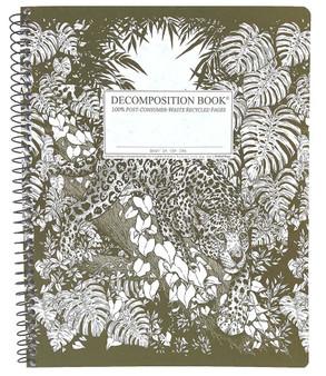 Michael Roger Press Decomposition XL Spiralbound Ruled Notebook Jaguar