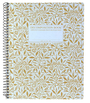 Michael Roger Press Decomposition XL Spiralbound Ruled Notebook Fields of Plenty