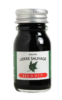 J. Herbin Fountain Pen Ink 10ml Lierre Sauvage