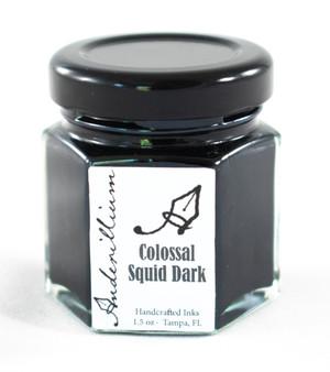Anderillium Fountain Pen Ink Bottle 1.5oz Colossal Squid Dark
