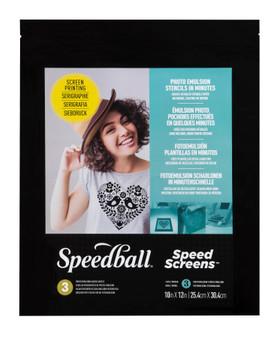 Speedball Speed Screens 10X12 3 Pack