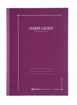 Itoya ProFolio Oasis Light Journal B5 7X10 Grape