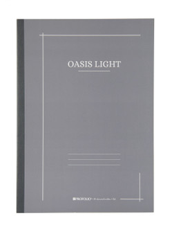 Itoya ProFolio Oasis Light Journal B5 7X10 Thundercloud