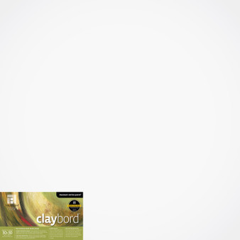 "Ampersand Panel Claybord Smooth Cradled 1.5"" 30X30"